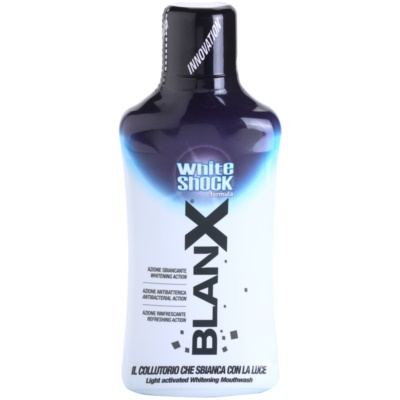 BlanX White Shock Mouthwash With Whitening Effect