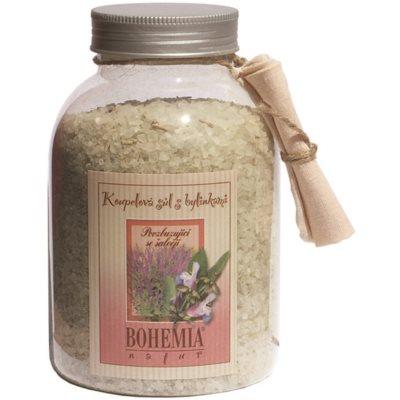 povzbudzujúca kúpeľová soľ so šalviou