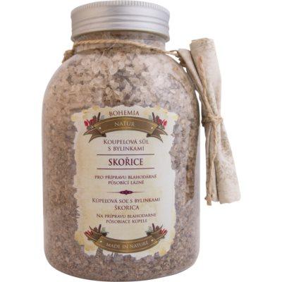 kúpeľová soľ s bylinkami pre uvoľnenie vnútorného napätia