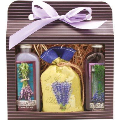 Bohemia Gifts & Cosmetics Lavender подаръчен комплект I.