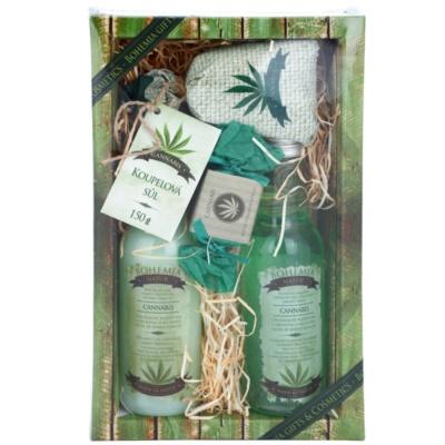 Bohemia Gifts & Cosmetics Cannabis set cosmetice I.