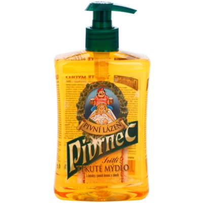 pivné tekuté mydlo