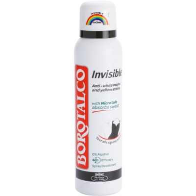 Borotalco Invisible дезодорант в спрей  срещу силно изпотяване