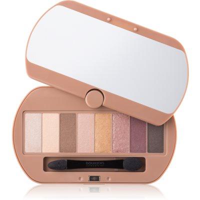 paleta očných tieňov 8 farieb