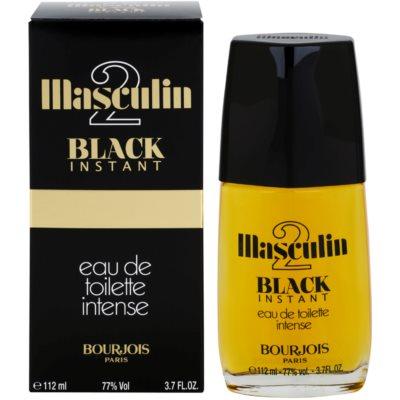 Bourjois Masculin Black Instant тоалетна вода за мъже 112 мл.