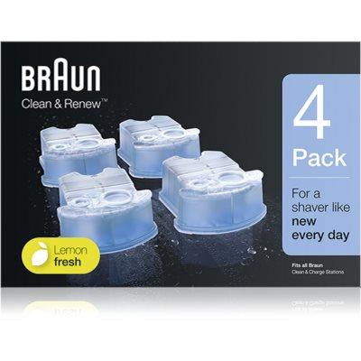 Braun Series Clean & Renew  cartuchos de limpieza