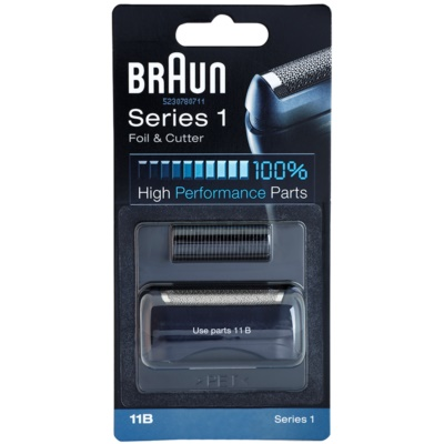 Braun CombiPack Series1 11B láminas de recambio + lote de cuchillas de recambio
