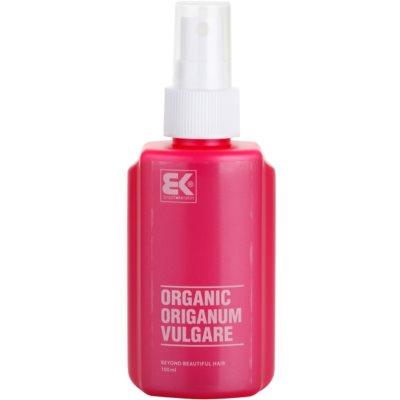 натуральна сироватка з екстрактом орегано допомагає при лікуванні акне та стимулює ріст волосся