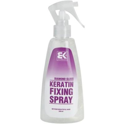 fixativ spray pe baza de keratina cu particule stralucitoare