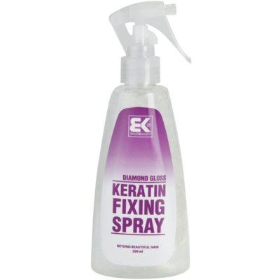 keratinový fixační sprej se třpytkami