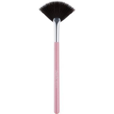 pincel para retirar excesso de maquilhagem - leque