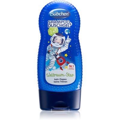 šampon in gel za prhanje 2v1 za otroke
