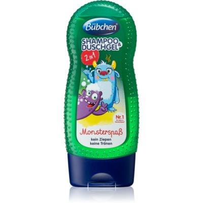 gel za prhanje in šampon 2v1