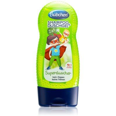 šampon in gel za prhanje za otroke