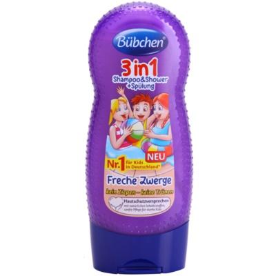 šampón, kondicionér a sprchový gel 3 v 1