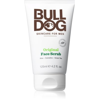 Bulldog Original čisticí pleťový peeling pro muže
