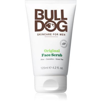 Bulldog Original exfoliante facial limpiador  para hombre