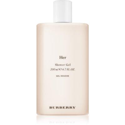 Burberry Her sprchový gél pre ženy 200 ml