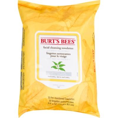 Burt's Bees White Tea toalhitas de limpeza húmidos