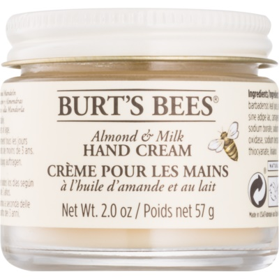 Burt's Bees Almond & Milk Hand Cream With Almond Oil