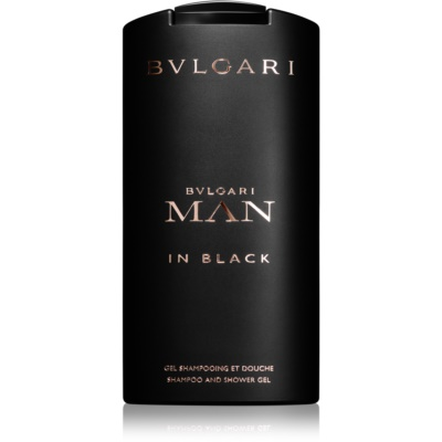Bvlgari Man In Black gel za prhanje za moške 200 ml