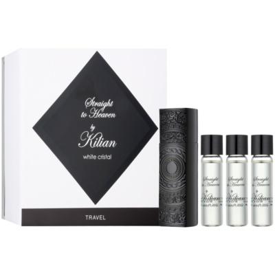By Kilian Straight To Heaven, white cristal eau de parfum férfiaknak  (1x utántölthető + 3x utántöltő)