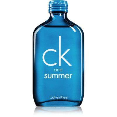 Calvin Klein CK One Summer 2018 woda toaletowa unisex