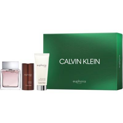 Calvin Klein Euphoria Men coffret XVI.  Eau de Toilette 100 ml + bálsamo after shave 100 ml + deo stick 75 ml