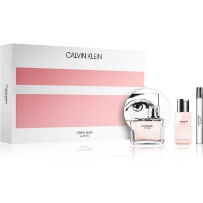 Calvin Klein Women подарунковий набір I Парфумована вода 100 ml + Парфумована вода 10 ml + Молочко для тіла 100 ml