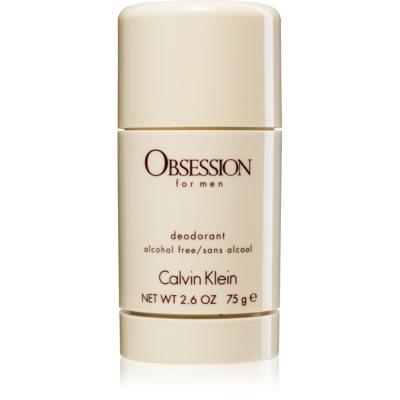 Calvin Klein Obsession for Men dédorant stick pour homme 75 ml (sans alcool)