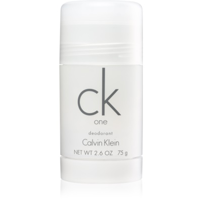 Calvin Klein CK One desodorizante em stick unissexo