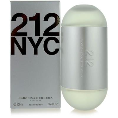 Carolina Herrera 212 NYC Eau de Toilette voor Vrouwen