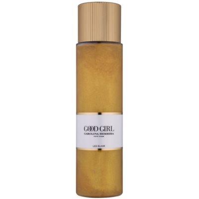парфумована олійка для жінок 200 мл  з блискітками