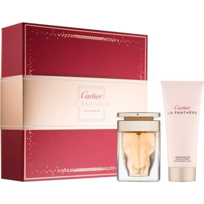 Cartier La Panthere lote de regalo IV.  eau de parfum 50 ml + crema corporal 100 ml