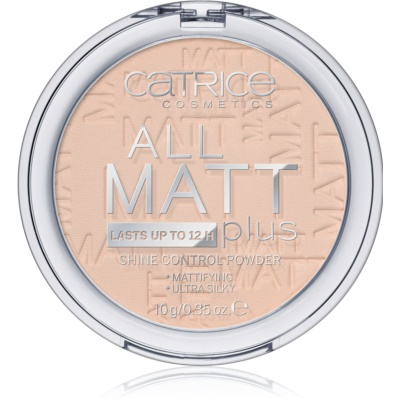 Catrice All Matt Plus poudre matifiante