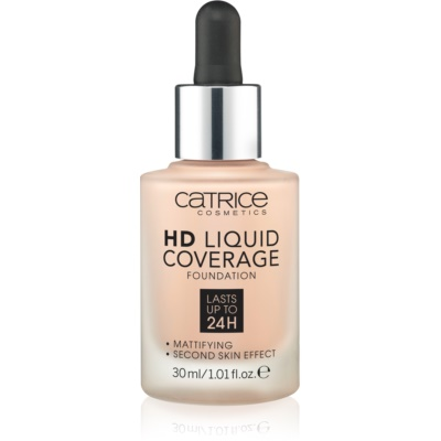 Catrice HD Liquid Coverage tональні засоби