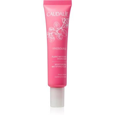 хидратиращ матиращ флуид за смесена кожа