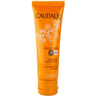 Caudalie Soleil Divin Anti - Wrinkle Sun Cream SPF50