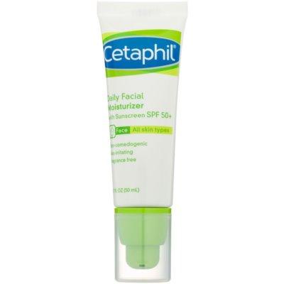 creme facial hidratante SPF 50+