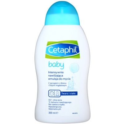 Cetaphil Baby Intensief Hydraterende Wasemulsie voor Kinderen vanaf Geboorte
