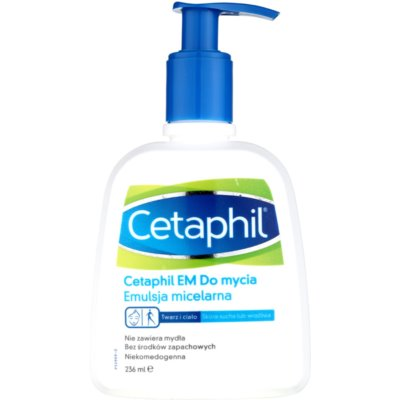 Cetaphil EM Cleansing Micellar Emulsion With Pump