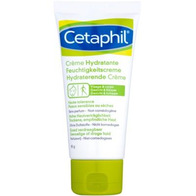 feuchtigkeitspendende Creme für Gesicht und Körper für trockene bis empfindliche Haut