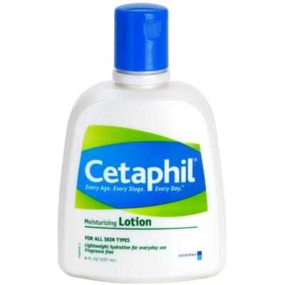 leite corporal hidratante para todos os tipos de pele