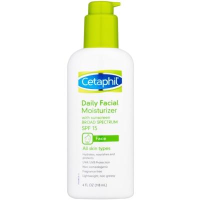 creme facial hidratante SPF 15