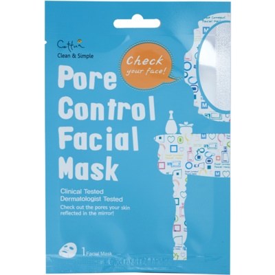 Sheet Mask For Pore Minimizer And Matte  Looking Skin