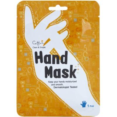 výživná maska na ruce