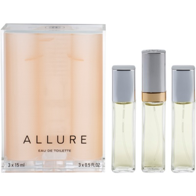 Eau de Toilette for Women 45 ml (1x Refillable + 2x Refill)