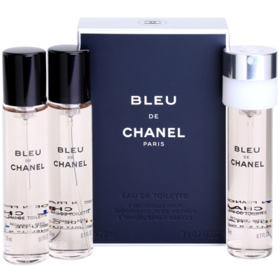 Eau de Toilette for Men 3 x 20 ml Refill