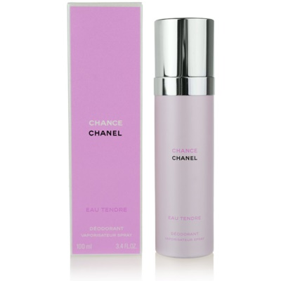 Chanel Chance Eau Tendre deospray pro ženy 100 ml