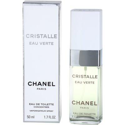 Chanel Cristalle Eau Verte Concentrée туалетна вода для жінок 50 мл